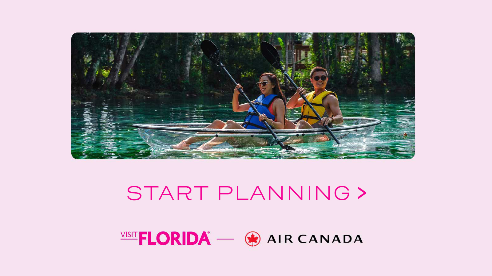 Visit Florida with Air Canada